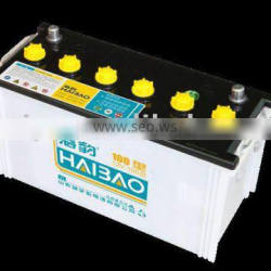 110ah dry charged lead acid battery