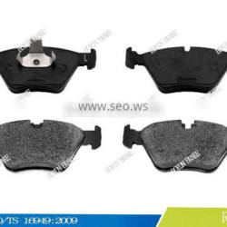 Superior performance front brake pad D947 34116761278 21990