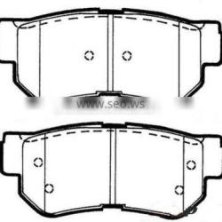 brake pad for HYUNDAI 58302-2HA00