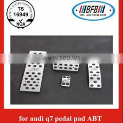 2006-2013 car stainless steel pedal pad for audi q7