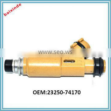 23209-74170 2016 Hot selling spare parts electronic petrol auto solenoid fuel injector 23250-74170 for Avensis T22