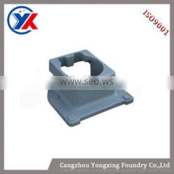 2015 new products sand casting iron cast foundry support used in crane machine