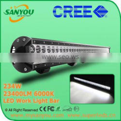 2015 Sanyou 180W 18000lm 6000k LED Auto Work Light Bar, 36inch led light bar for offroad, Jeep, SUV