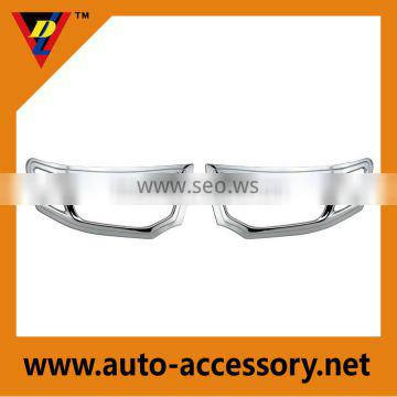 Chrome headlight and taillight covers for mitsubishi pajero accessories