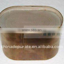 metallic substrate catalyst of euro 3