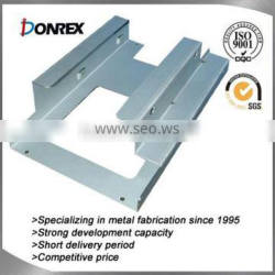 Chinese OEM factory of custom metal bracket fabrication contracts high welding quality requirement