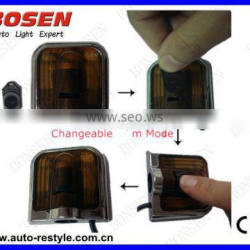 no drilling automatically off LED car logo door light
