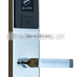 Electric door lock RF card hotel lock for hotel card key lock system