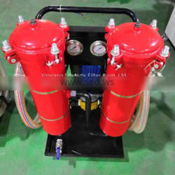 Portable high-accuracy oil recycling purifier unit