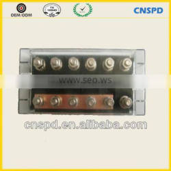 6-way auto bolt-on fuse box/holder for truck,truck fuse box with bolt-on fuse