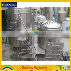 7BBL beer brewing equipment, beer brewery equipment, dimple plate jacketed cooling beer fermenter, bright beer tank