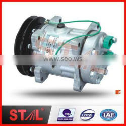 7H15 SH200 B1 146mm 24V R134a AC Compressor for Excavator Parts