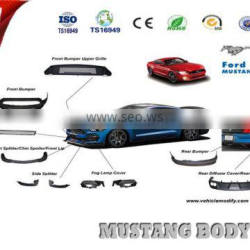 mustang side skirts