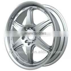 TS16949 standard high qality forged aliminum wheels and auto part OEM manufacturing