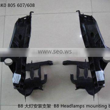 YUCHEN Car Accessories headlamps mounting bracket For Audi A4L B8 OEM 8K0 805 607/ 8K0 805 608
