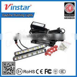hotsale New waterproof high quality Car universal 8v-32v led daytime running light