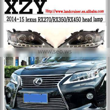 2014-15 oe style rx270/rx350/rx450 head lamp,head light for RX270/350/450