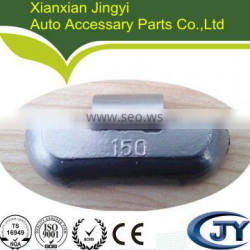 Pb clip on wheel weight for big bus/truck 150g