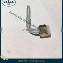#6 #8 #10 #12Al joint with Al jacket Auto air conditioning fitting Female O-Ring Connector 180 Degree AC Fitting