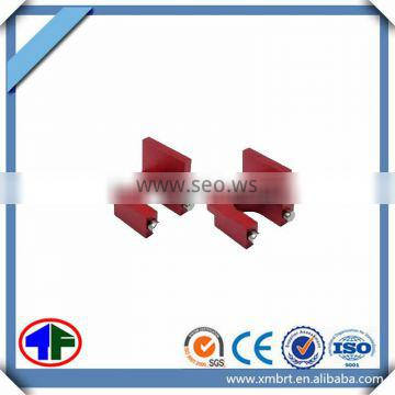 Hot sell competitive price high precision red anodizing cnc part with OEM service