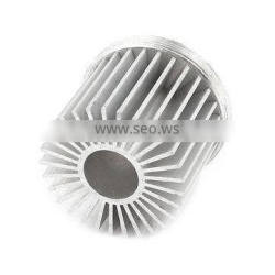 China supplier aluminium LED heatsink casting part price