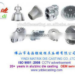 Supply various of aluminum alloy die casting LED heat sink lighting fittings