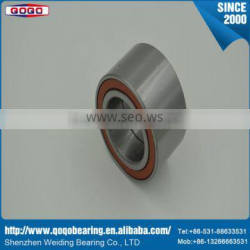 High precision low noise bearing wheel bearing and supercharger bearing with high speed