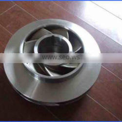 customized casting part for pumps and impeller