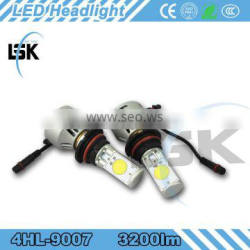 Super Bright hi/low Beam 12v 24v 3200LM waterproof led headlight bulbs for all vehical
