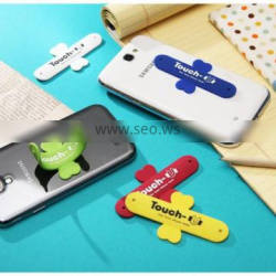 Card Wallet Phone Silicone Mobile Stand