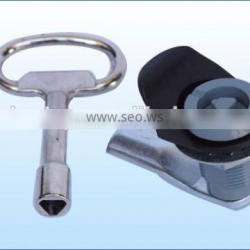 High security fire protection cabinet lock