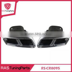 304 Stainless Steel Exhaust Muffler Tip Stainless Steel Pipe 2012-2014 S-Class AMG W222
