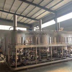 1000L three vessels brewhouse for micro brewery in stock