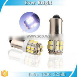 On sales Ba9s 1206 22smd SMD car auto signal led lamp,led light manufacturers