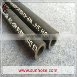 Cloth and smooth surface black and High Quality hydraulic Hose