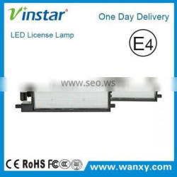 Top quality Error free E-mark CE certificate LED License Plate Light for Toyota Auris 2014