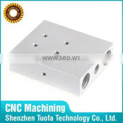 Custom made precision OEM machining aluminium cnc blocks