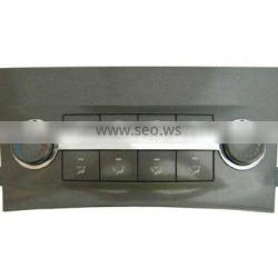 vehicle semi automatic air conditioning control