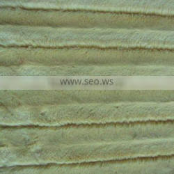 100% polyester brushed velour fabric