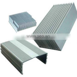 Aluminium heat sink with long lifetime made in china according to customer's require