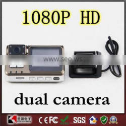 HD 1080P Dual Lens Dashboard Car vehicle DVR with G-sensor