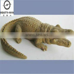 crocodile industrial design toy prototype, carved mud, 2013 style