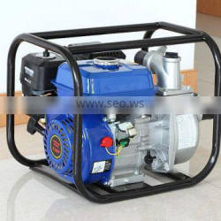 Low noise portable gasoline water pump