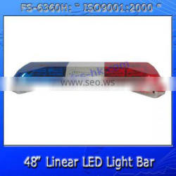 High power linear led emergency warning light bar FS-6360H