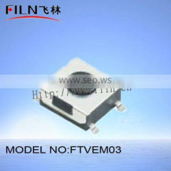 FTVEM03 4pin 6.2x6.5mm smd bathroom touch switch