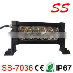36W CREE Off Road LED Light Bar convex optical light bars