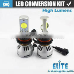 high lumens H4 H13 Hi lo led headlight kit car lamp led conversion kit