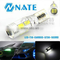 Car canbus interior light LED lamp light T10 5730 10 smd 5630 led chip