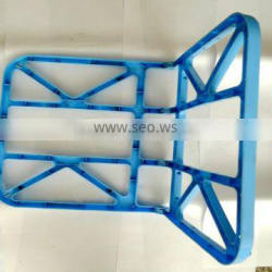 Custom plastic injection mold designfor blue bracket manfacturer in yuyao,ningbo