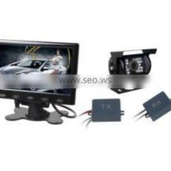 Reverse camera wireless for truck with 7 inch monitor 9 to 36V
